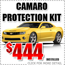 Chevy Camaro Protection Package Parts Special Discount coupon serving Portland Oregon