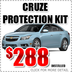 Chevy Cruze Protection Package Parts Special Discount coupon serving Portland Oregon