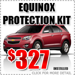 Chevy Equinox Protection Package Parts Special Discount coupon serving Portland Oregon