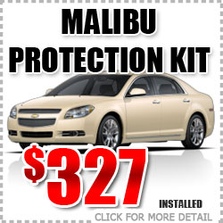 Chevy Malibu Protection Package Parts Special Discount coupon serving Portland Oregon