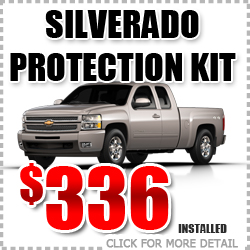 Chevy Silverado Protection Package Parts Special Discount coupon serving Portland Oregon