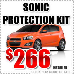 Chevy Sonic Protection Package Parts Special Discount coupon serving Portland Oregon
