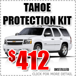 Chevy Tahoe Protection Package Parts Special Discount coupon serving Portland Oregon