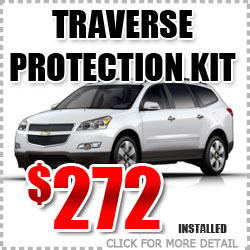 Chevy Traverse Protection Package Parts Special Discount coupon serving Portland Oregon