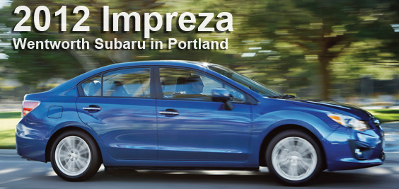 New 2012 Subaru Impreza Specs  Portland OR Model Sedan Details