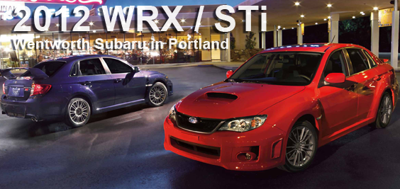 New 2012 Subaru Impreza WRX  STi Details  Portland OR Sports
