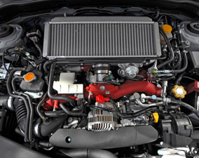 Subaru Impreza WRX STi Engine View