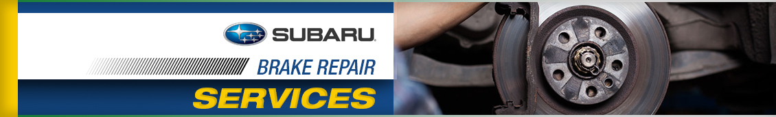 Subaru Brake Repair Service Information in Seattle, WA