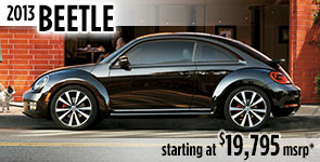 New 2013 VW Beetle Model Details & Specifications serving Ballard, Seattle, West Woodland, Phinney Ridge, Fremont, WA