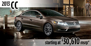 New 2013 VW CC Model Details & Specifications serving Ballard, Seattle, West Woodland, Phinney Ridge, Fremont, WA
