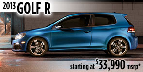 New 2013 VW Golf-R Model Details & Specifications serving Ballard, Seattle, West Woodland, Phinney Ridge, Fremont, WA