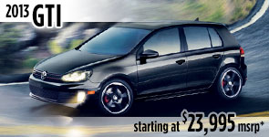 New 2013 VW GTI Model Details & Specifications serving Ballard, Seattle, West Woodland, Phinney Ridge, Fremont, WA