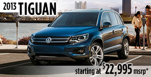 New 2013 VW Tiguan Model Details & Specifications serving Ballard, Seattle, West Woodland, Phinney Ridge, Fremont, WA