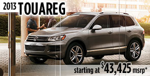 New 2013 VW Touareg Model Details & Specifications serving Ballard, Seattle, West Woodland, Phinney Ridge, Fremont, WA
