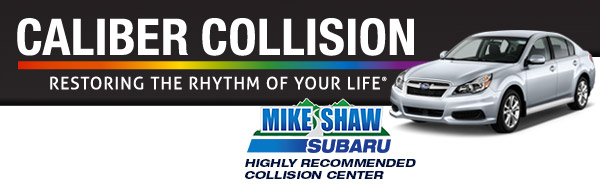 Mike Shaw Subaru Introduces Caliber Collision serving Denver & Thornton, CO