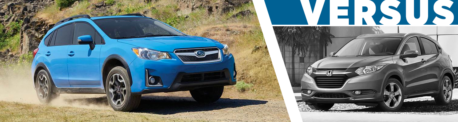 2017 Subaru Crosstrek VS 2017 Honda HR-V Model Comparison serving Orange County, CA