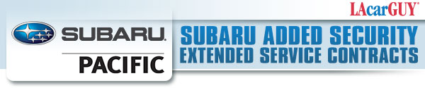 Subaru Service Contract available at Subaru Pacific serving Hermosa Beach, California