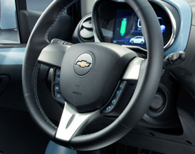 2014 Spark EV Steering Wheel