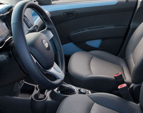 2014 Spark EV Front Leatherette Seating