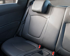 2014 Spark EV Rear Leatherette Seating