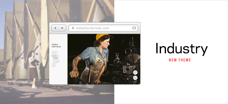 Industry | New Theme