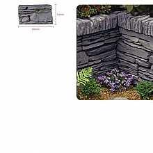 Kelkay Daleside Walling Half Block Valley Slate (60 Pieces)