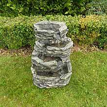 Small 4 Pool Rock Water Feature
