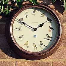 RHS Garden Birds Clock