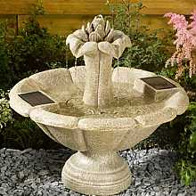 Lotus Flower Fountain by Smart Solar