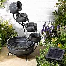 Smart Solar Aphrodite Ceramic Garden Water Feature