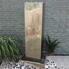 Kingston Stainless Steel Fountain Water Feature