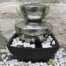 Bilbao Stainless Steel Table Top Indoor Water Feature