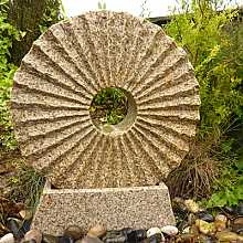 Rising Sun Fountain with Base Water Feature