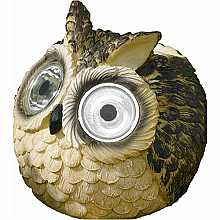 Bright Eye Owl Spotlights, 2 pack by Smart Solar