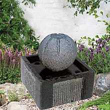 SPECIAL OFFER - Granite Patio Water Feature With LED Lights