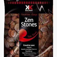 Kelkay Polished Zen Stones Teak Sheen