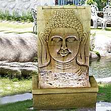 Buddha on Wall Water Feature