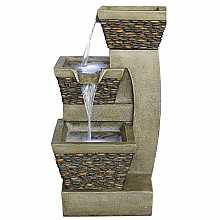 Kelkay Pebble Spills Easy Fountain Water Feature