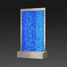 Extra Extra Large Steel Frame Floor Standing Bubble Wall with Colour Changing LED Lights