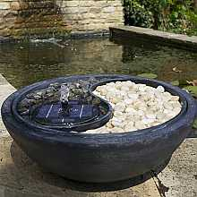 Ying Yang Fountain Water Feature by Smart Solar