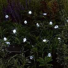 Crystal Ball Light String x 20 LEDs by Smart Solar