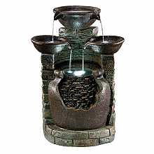 Kelkay Antique Spills Water Feature with LED Lights