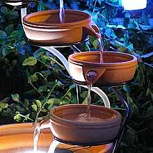 Replacement Terracotta Cascade Small Bowll x 3