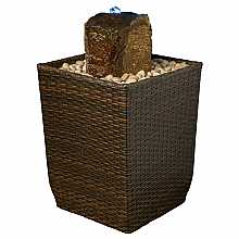 Kelkay Rattan Weave Easy Fountain