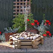 Small Pebble Garden Fountain