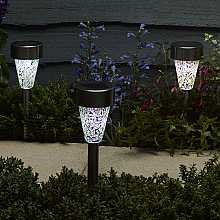 Golden Pearl Stake Light, 8 pack by Smart Solar