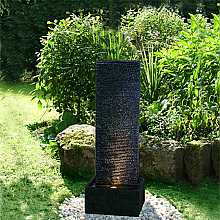 Black Ripple Sheet Water Feature