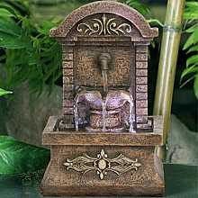 Three Fall Classical Arch Table Top Indoor Water Feature
