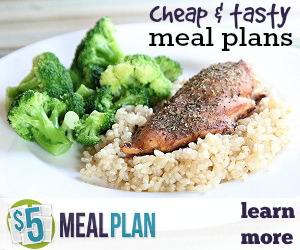 Try $5 Meal Plan Today!
