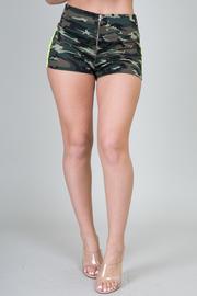Army Print Shorts